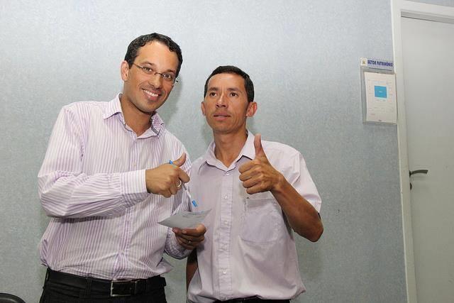imagem: José Aldinam/CMPG Pietro e Aguinel se filiam na Rede Sustentabilidade, partido de Marina Silva.