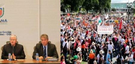 Governo quer evitar a greve geral dos servidores públicos. (foto: Aen/APP)