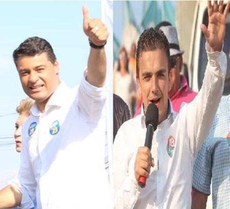 Marcelo Rangel (PPS) defende a continuidade do trabalho e Aliel Machado (Rede),  acredita que a cidade precisa de mudanças.
