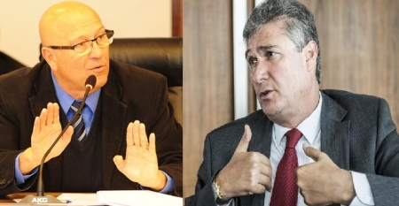 """""""O secretário da Fazenda afirmou que não dá pra pagar as duas contas, agora vai ter que explicar"""", disse o deputado líder do governo de Beto Richa, Luiz Claudio Romanelli."""