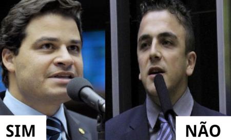 Deputados ponta-grossenses Sandro Alex (PSD) e Aliel Machado (Rede), divergiram na votação da PEC 241, que limita o teto de gastos do Brasil, por 20 anos.
