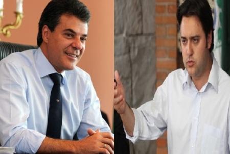 Decreto de Richa é uma consequência das eleições em Curitiba.  Ratinho Júnior esteve ao  lado de Ney Leprevost (PSD)  e Beto Richa apoiou Rafael Greca (PMN).