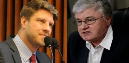 """""""O escritório político do Rossoni, chefe da Casa Civil do Paraná,  tem o mesmo endereço de uma empresa laranja da Valor, que desvia dinheiro das escolas"""", disse o deputado Requião Filho."""