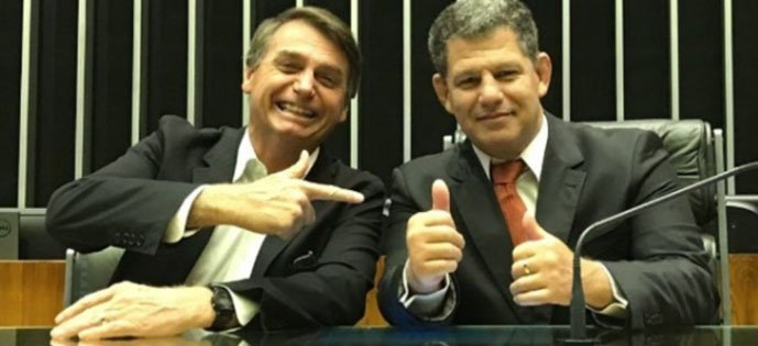 Bebianno-e-Bolsonaro